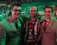Gold Medal Winners in Mobile Robotics at 2012 WorldSkills Americas